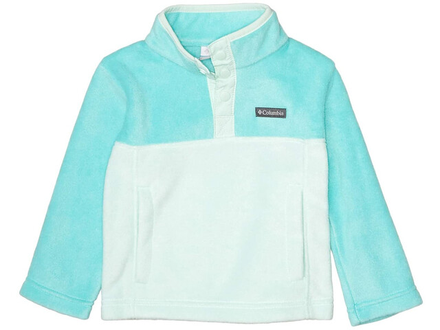 Columbia Steens Mountain Pull Polaire Snap 1/4 Enfant, sea ice/dolphin